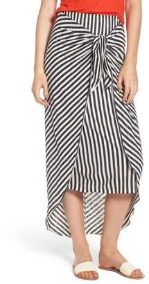 Splendid x Margherita Isola Stripe Sarong Skirt