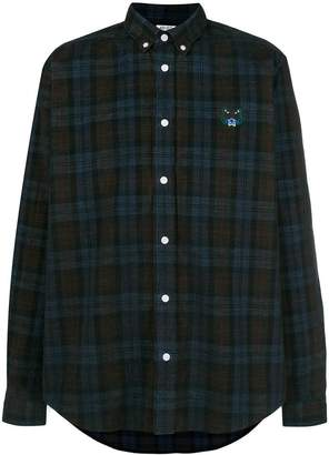 Kenzo plaid long-sleeve shirt