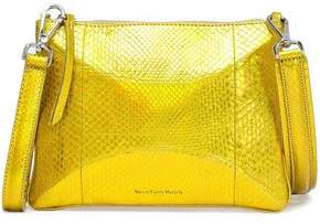 Maison Margiela Metallic Python Shoulder Bag