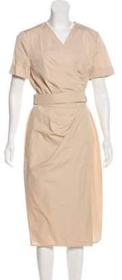Max Mara Short Sleeve Midi Dress w/ Tags