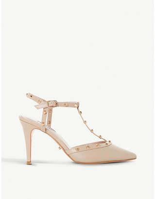 Dune Catelyn studded suede courts