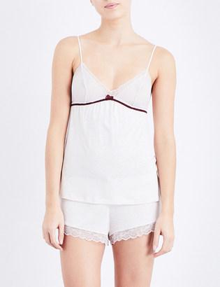 EBERJEY Leila jersey camisole $67 thestylecure.com