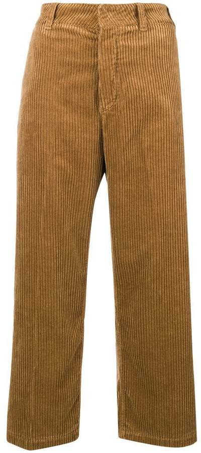 Department 5 flared corduroy trousers