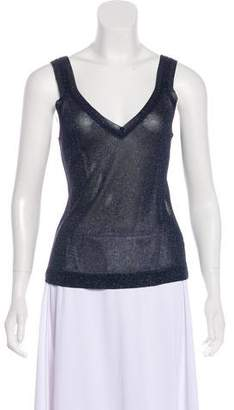 Missoni Metallic Sleeveless Top