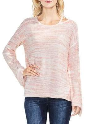 Vince Camuto Space Dye Long-Sleeve Top