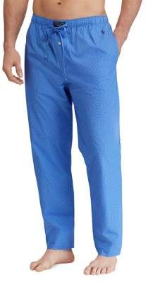 Ralph Lauren Printed Cotton Pajama Pant