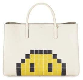 Anya Hindmarch Ebury Maxi Pixel Leather Tote