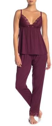 Eberjey Lila Slim Pajama Pants