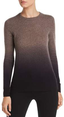 Bloomingdale's C by Dip-Dye Cashmere Crewneck Sweater - 100% Exclusive
