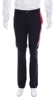 Givenchy Red Band Accented Pants w/ Tags