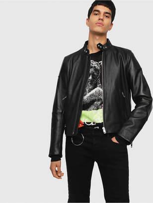 Diesel Leather jackets 0GAST - Black - XS