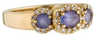Effy Jewelry 14K Tanzanite & Diamond Ring
