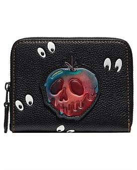 Coach Disney X Small Zip Around Wallet With Spooky Eyes