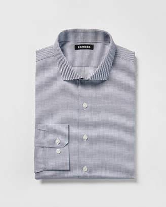 Express Classic Jacquard Cotton Dress Shirt