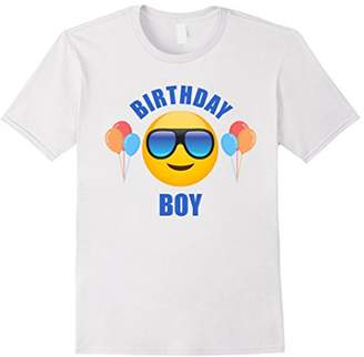 Birthday Boy Emoji T-Shirt for Men