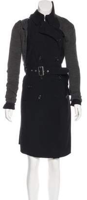 Junya Watanabe Wool Asymmetrical Coat