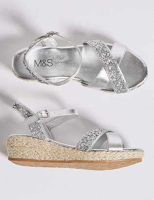Marks and Spencer Kids' Wedge Sandals (13 Small - 6 Large)
