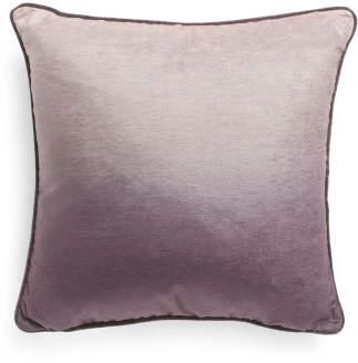 20x20 Ombre Chenille Velvet Pillow