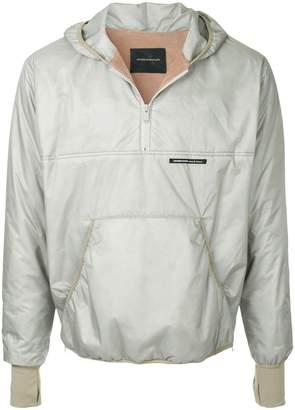 Undercover half zip windbreaker jacket