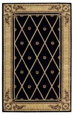 Nourison Rugs Ashton House Rug Collection- Black