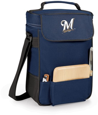 Picnic Time Milwaukee Brewers Duet Insulated Wine & Cheese Bag