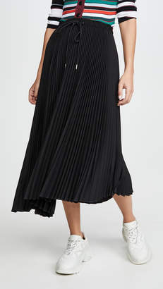 Proenza Schouler PSWL Pleated Midi Skirt