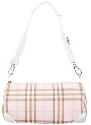 Burberry Candy Nova Check Lola Barrel Bag 35bc39dff901a