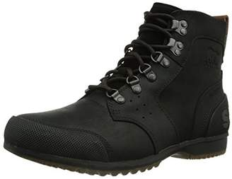 Sorel Men's Boots, Ankeny Mid Hiker, Black (Red (Tobacco)), UK 13