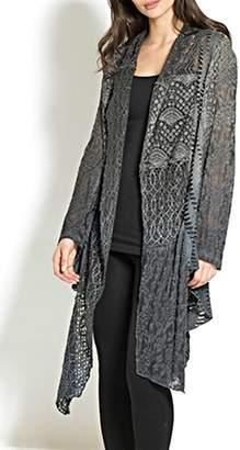 Adore Lace Multifabric Cardigan