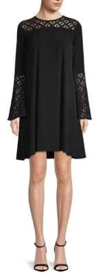 MICHAEL Michael Kors Bell-Sleeve Swing Dress