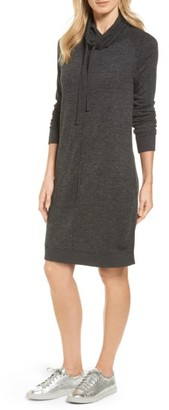 Women's Caslon Sweatshirt Dress $69 thestylecure.com