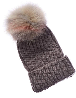 Jocelyn Knit Hat With Pom