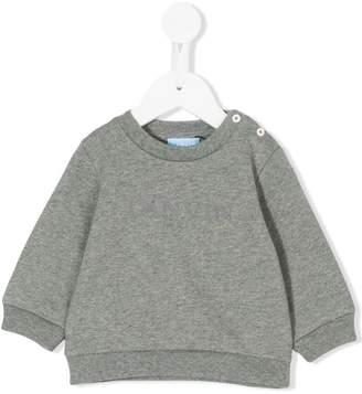Lanvin Enfant brand print swearshirt