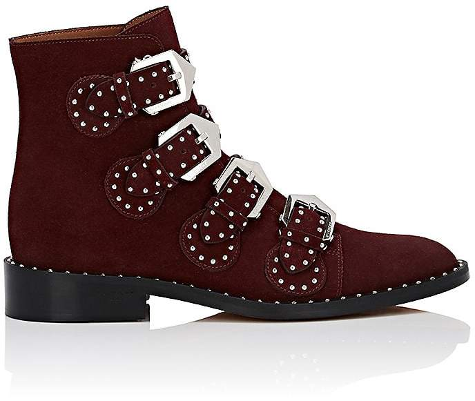 Givenchy Women's Elegant Suede Ankle Boots