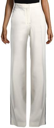 Derek Lam 10 Crosby Derek Lam Tuxedo Wide-Leg Trouser
