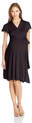 Everly Grey Women's Maternity Uma Wrap Dress