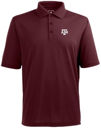 Antigua Men's Texas A&M Aggies Pique Xtra Lite Polo