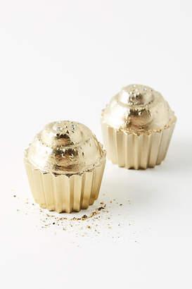 Anthropologie Cupcake Salt & Pepper Shakers