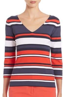 Peserico Horizontal Stripe Sweater