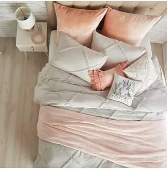 Peri Home Chenille Lattice Comforter Set