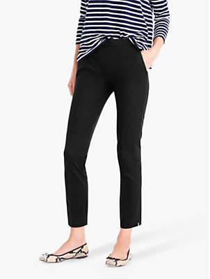 J.Crew Martie Bi-Stretch Cotton Trousers