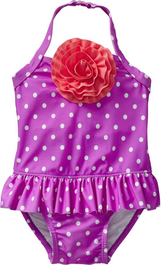 Old Navy Rosette Skirted Swimsuits for Baby