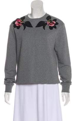 Dolce & Gabbana Embellished Long Sleeve Sweatshirt