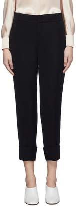 Vince Roll cuff crepe suiting pants