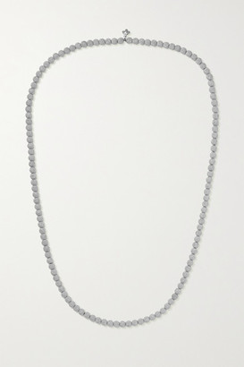 Carolina Bucci Florentine 18-karat White Gold Necklace