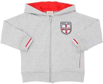 Armani Junior England Soccer Team Cotton Sweatshirt