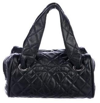 Chanel Caviar Timeless Bowler Bag
