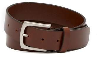 Bosca Flat Edge Leather Belt
