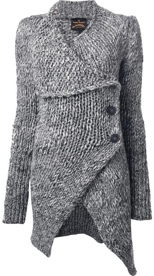 Vivienne Westwood 'Long Concordia' Cardigan