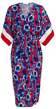 The Endless Summer Borgo de Nor Borgo de Nor Women's Raquel Floral Kimono Wrap Dress